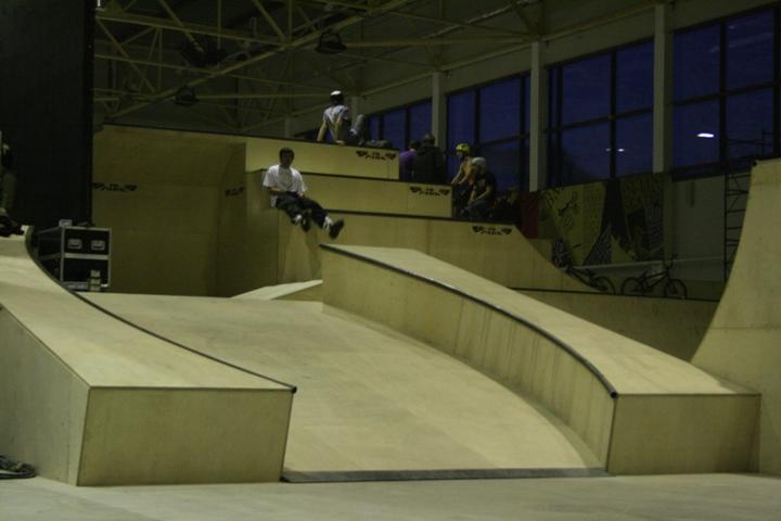 Скейт-парк Sportex в Красноярске