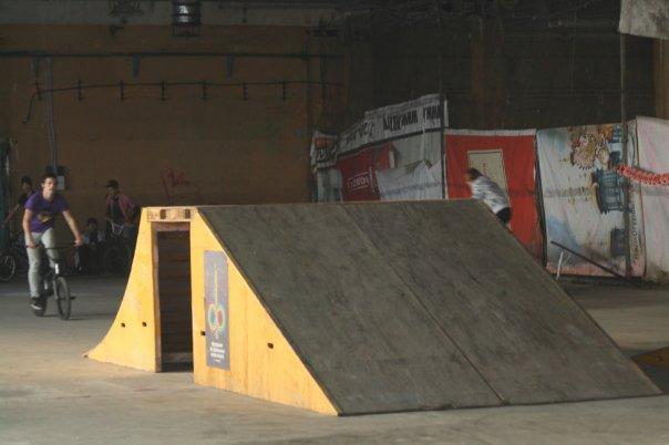 Крытый скейтпарк в Челябинске